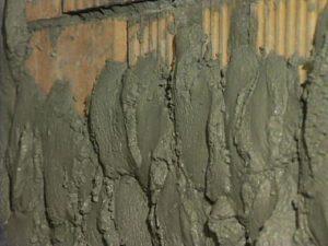 Цементно песчаный раствор для штукатурки стен