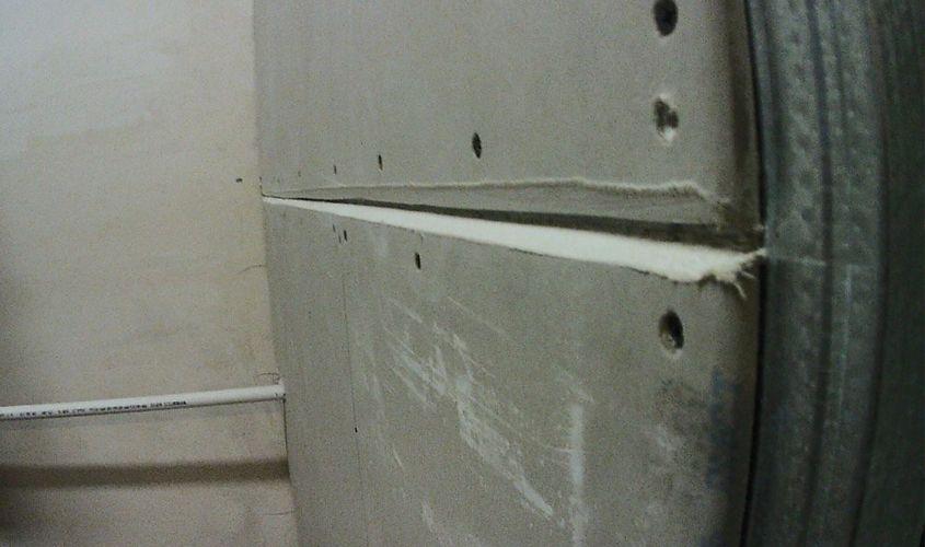 Шпаклюем стены из гипсокартона правильно