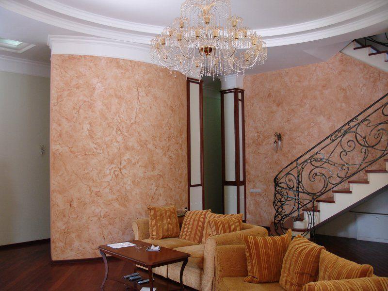 Готовим стены под декоративную штукатурку