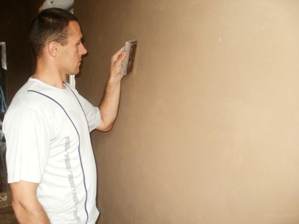 Выравнивание глиняных стен