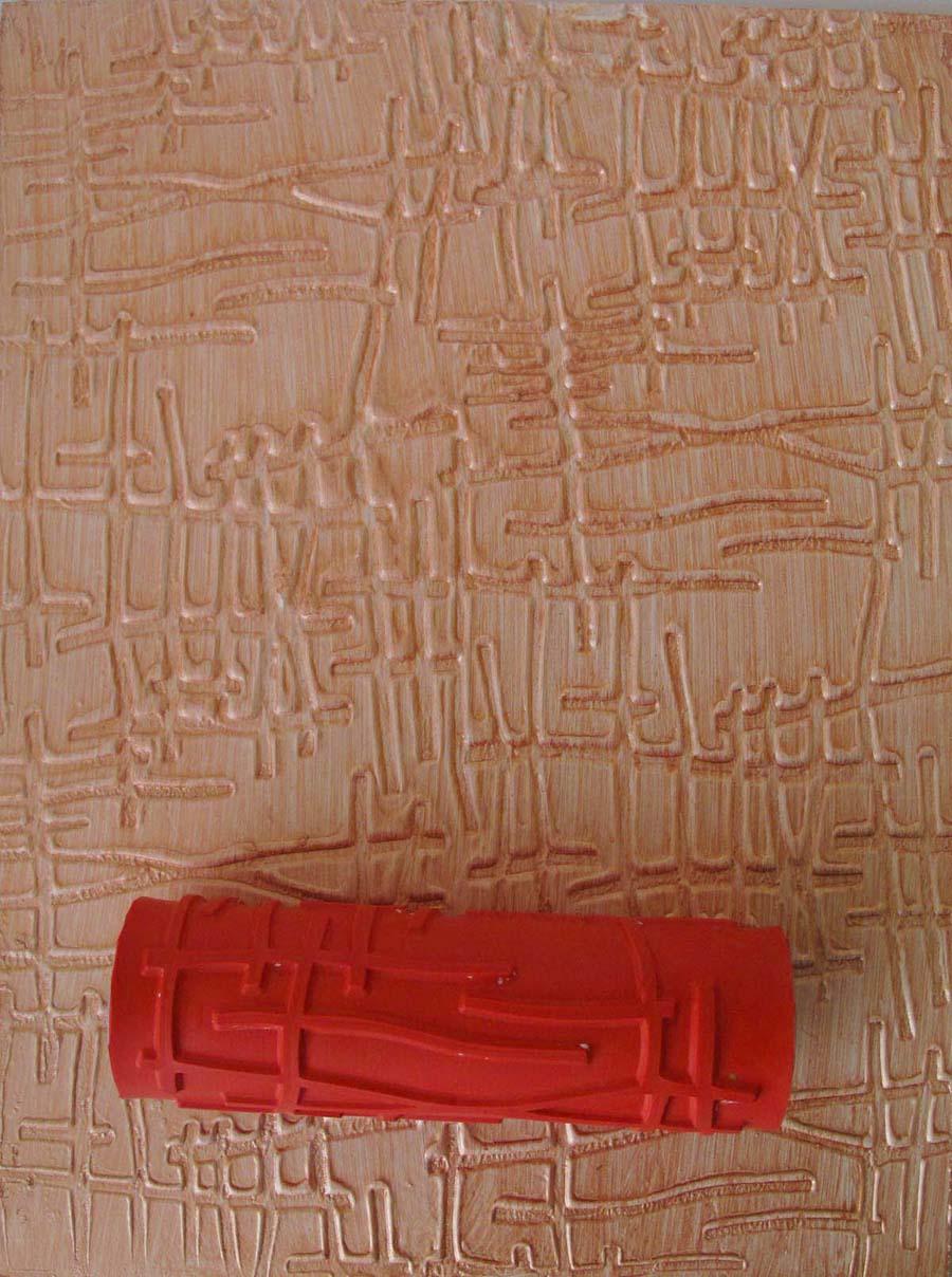 Декоративная штукатурка из обычной шпаклевки 27