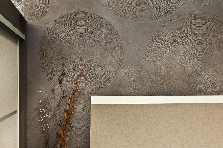 Штукатурка декоративная стен своими руками фото
