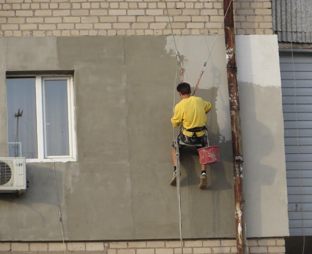 утепление фасада пенополистиролом под штукатурку