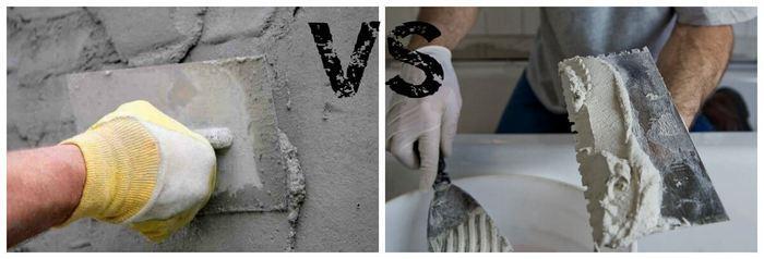 По прочности и долговечности цементно-песчаная штукатурка занимает лидирующее положение