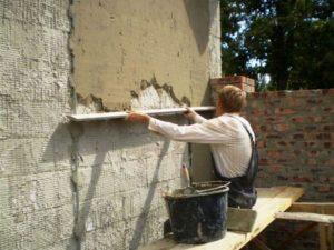 Штукатурка для наружных работ помогает защитить фасад здания от негативных атмосферных явлений