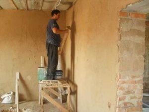 Штукатурка для внутренних работ производится разных видов по вяжущему материалу и назначению