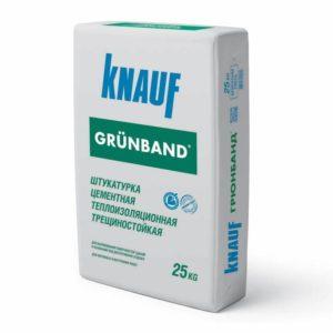 Цементная штукатурка Knauf Грюнбанд
