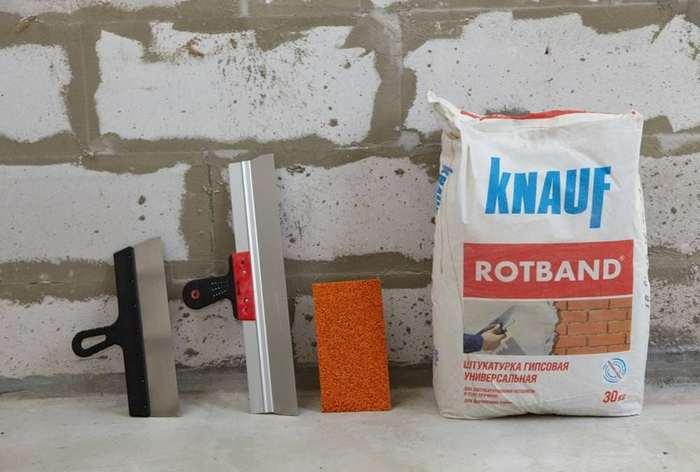 Штукатурные смеси для отделки газобетона есть в линейках всех основных производителей штукатурок