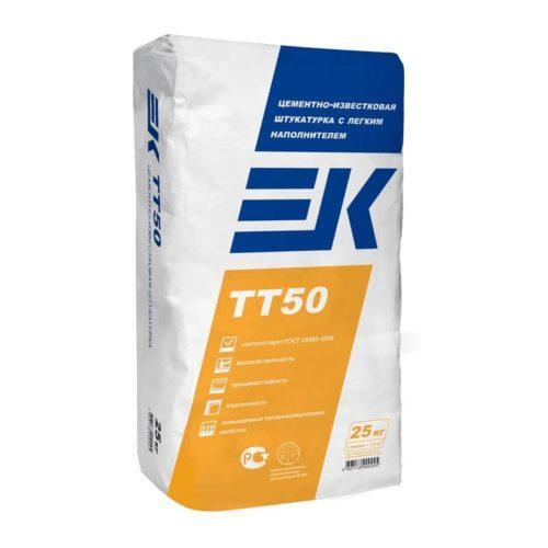 Цементно-известковая штукатурка EK TT50