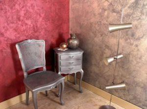 Декоративная штукатурка позволяет преобразить интерьер помещений