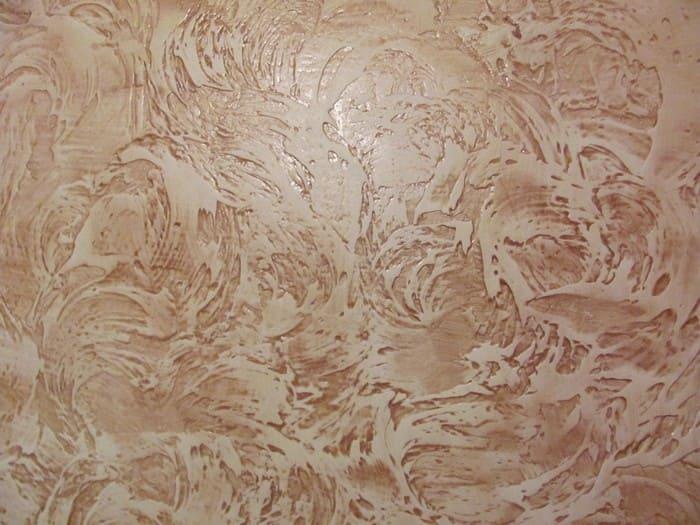 Рельефная венецианская штукатурка