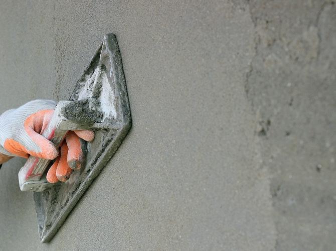 Известково-песчаная штукатурка