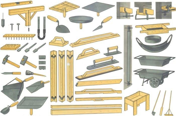 Материалы и инструменты для штукатурки деревянных стен