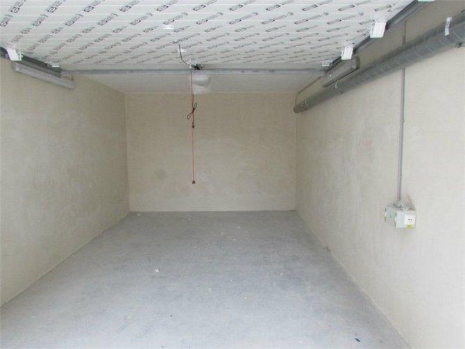 Штукатурка защитит гараж от сырости