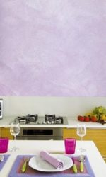 Цветная штукатурка для кухни