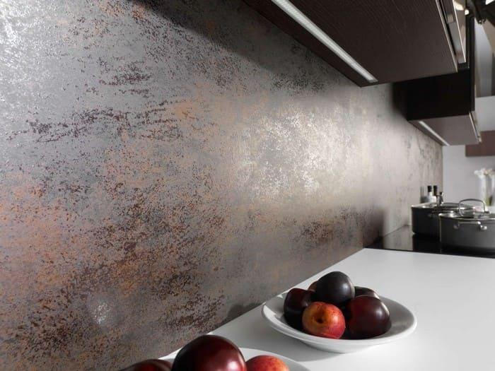 Вид декоративной штукатурки на кухне