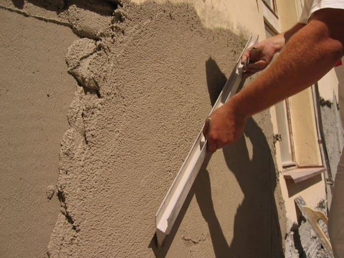 Высококачественная песчано-цементная штукатурка
