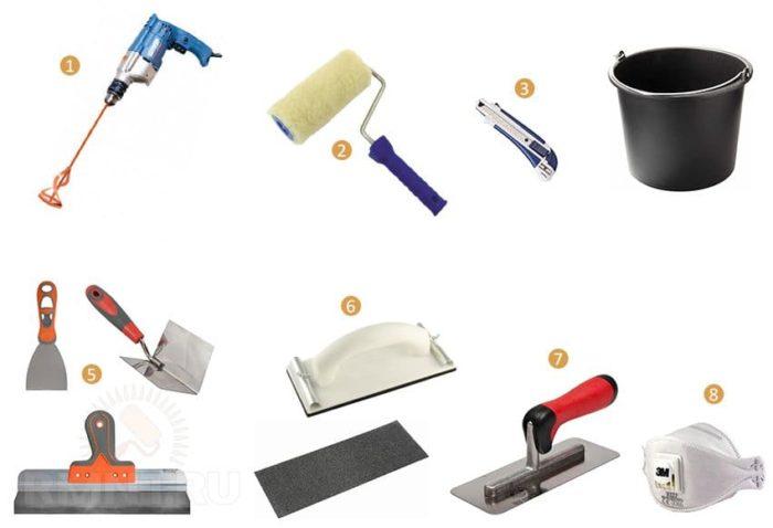 Какие инструменты могут понадобиться при оштукатуривании углов