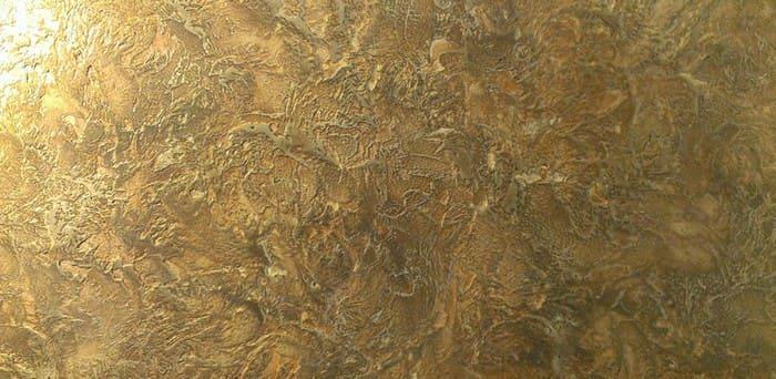 Марсельский воск придает блеск и дополнительную глубину рисунку