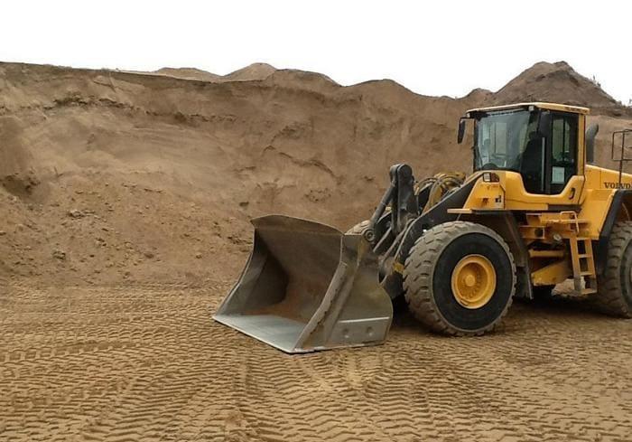 Песок - важная составляющая многих строительных составов