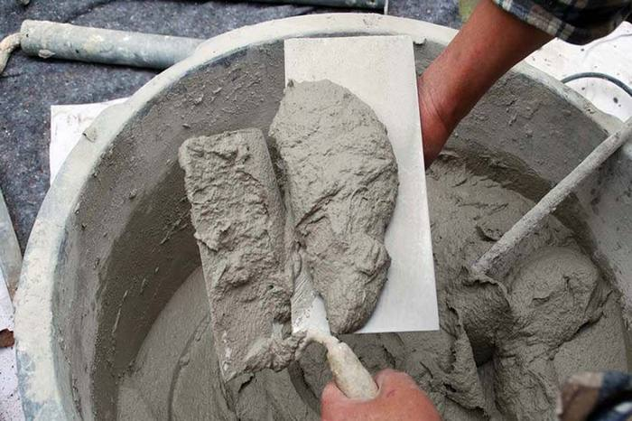 Раствор штукатурный цементно-песчаный