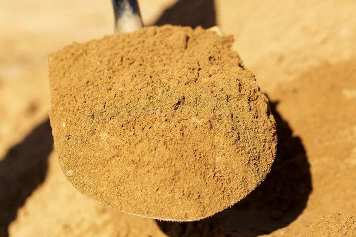 Речной песок для штукатурки стен