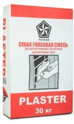 Русеан plaster гипсовая штукатурная смесь