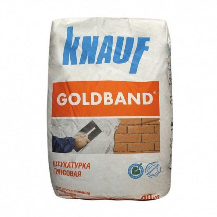 Штукатурная смесь гипсовая Knauf Goldband