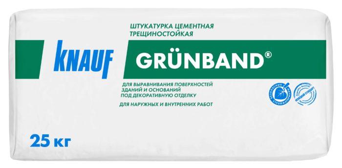 Трещиностойкая сухая штукатурка Knauf Grunband