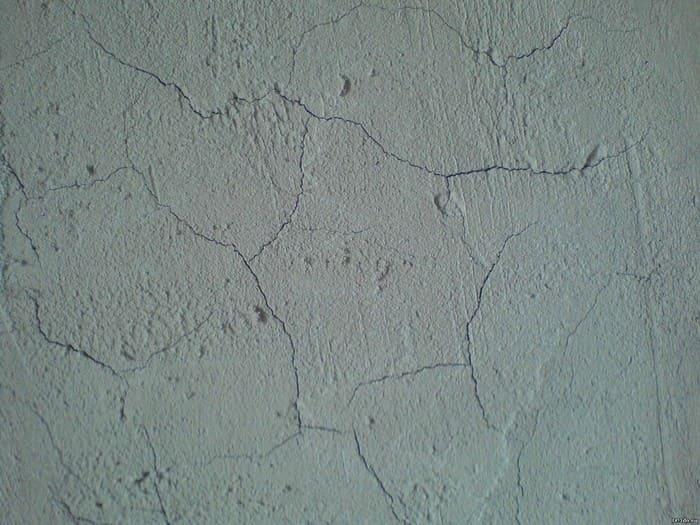 Трещины при высыхании штукатурки