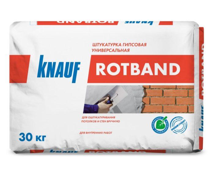 Универсальная гипсовая штукатурка Knauf Rotband