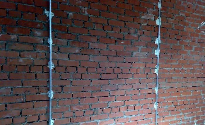 Установка маяков на стены