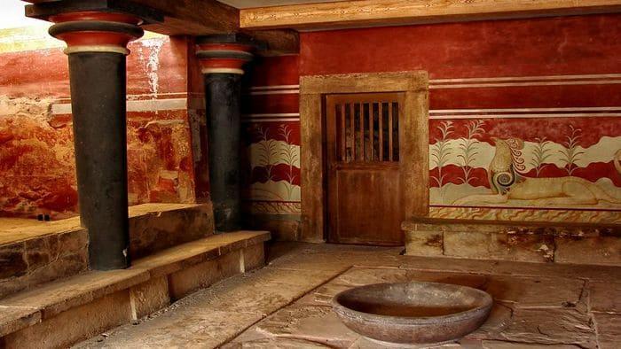 В Древнем Риме декорировали стены мраморной пылью
