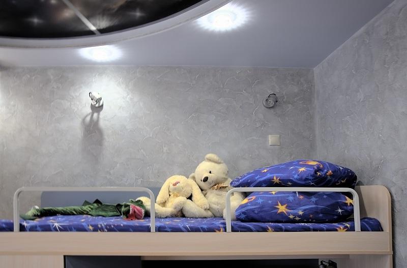 Венецианская штукатурка в детской комнате
