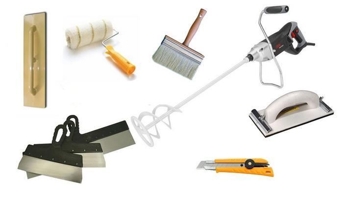Чтобы приготовить смесь достаточно универсальных инструментов
