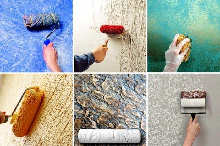 Декоративная штукатурка для стен своими руками вполне доступна для всех желающих