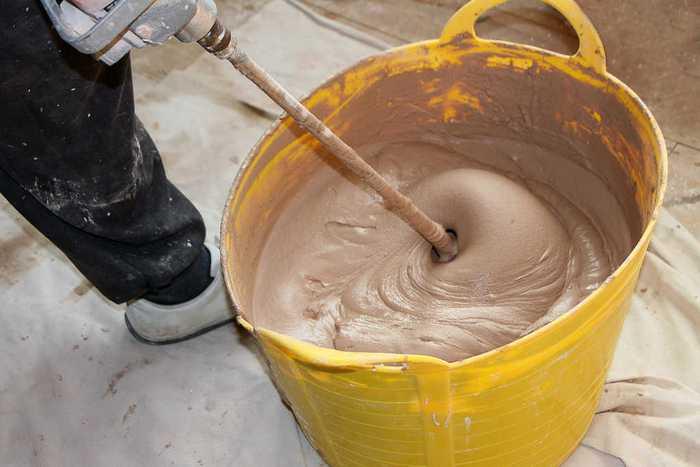 Для самостоятельного изготовления состава потребуются наполнитель и связующий компонент
