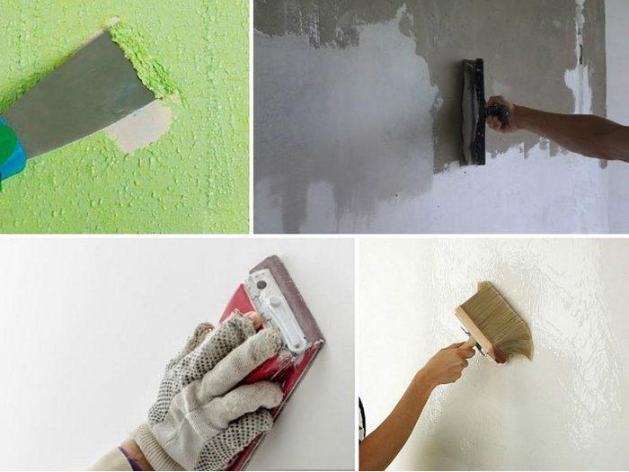 Предварительная подготовка стен очень важна