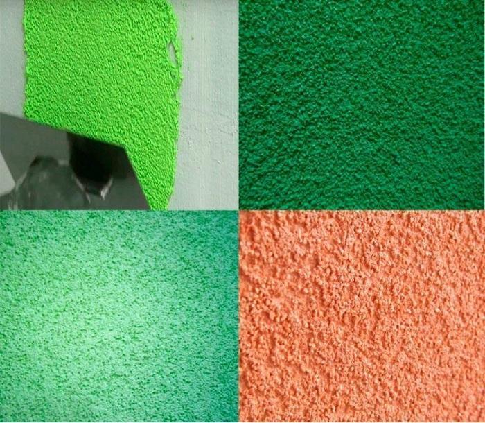 Штукатурка шуба на синтетических акриловых смолах получается эластичной