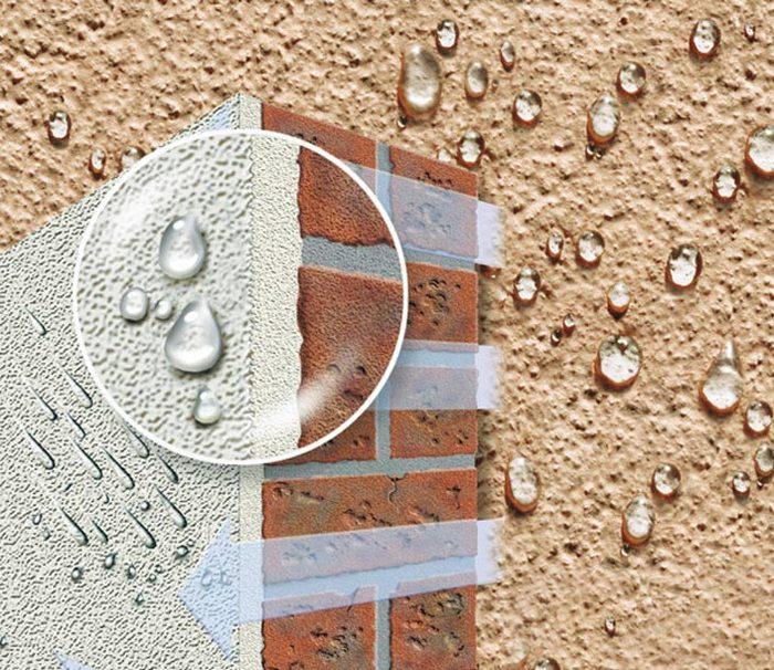 Цокольная штукатурка защищает здание от влаги