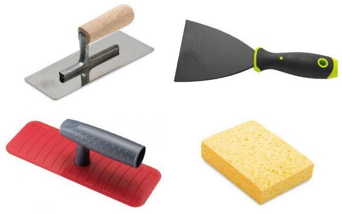 Для нанесения не требуется большого количества инструмента