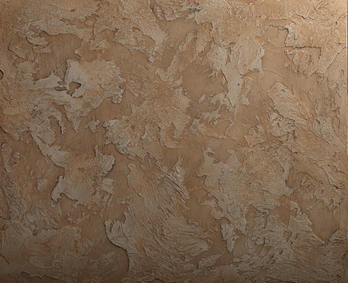 При помощи фактурного состава можно создать покрытие, схожее с натуральными материалами