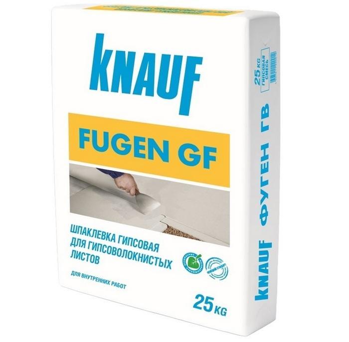 Knauf Fugen GF – для сплошного шпаклевания ГВЛ
