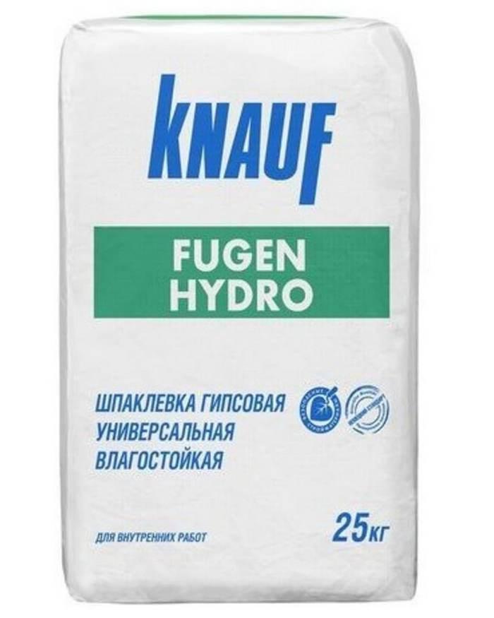 Knauf Fugen Hydro – влагостойкая шпатлевка из гипса для обработки стыков