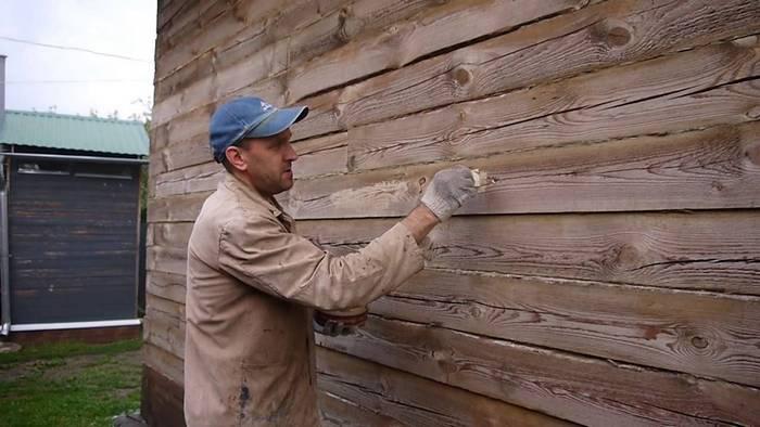 Для шпаклевания дерева, которое находится на улице или подвергается воздействию влаги, используют масляные смеси