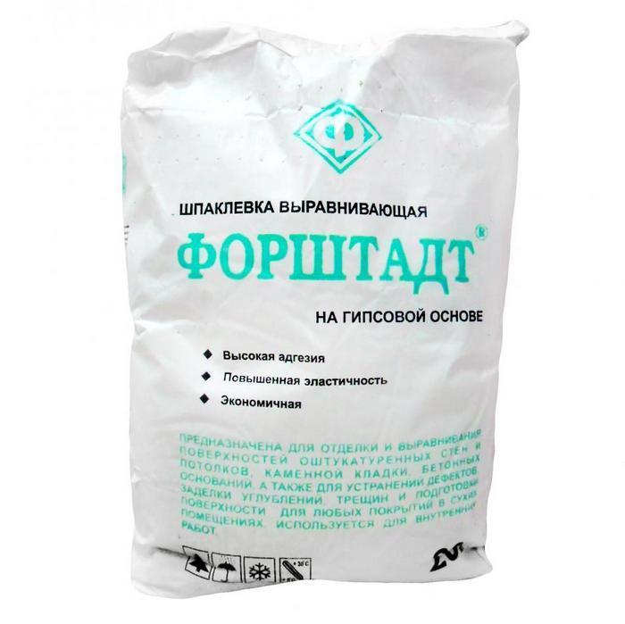 По прочности и эластичности гипсовый состав уступает другим смесям