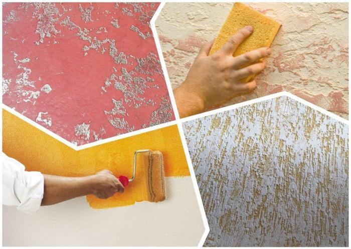 Покраска декоративной штукатурки - это ответственный, но не сложный процесс