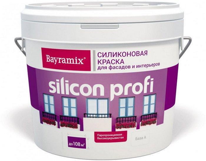 Силиконовый состав имеет хорошие показатели гидрофобности, благодаря которой влага не проникает в окрашенную стену