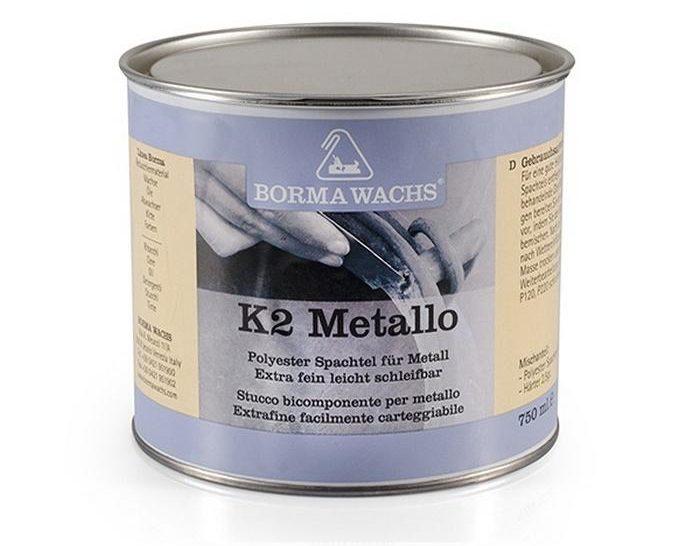 Скорость высыхания шпатлевки по металлу — самая высокая