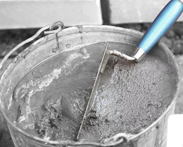 Смеси на цементной основе имеют срок жизни до 4 часов